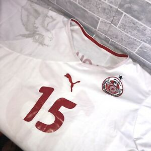 Tunisia 2010/2011 Home Football Shirt Jersey Size S Adult