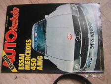 $$u Revue Auto Hebdo N°137 Mercedes 450 AMG  Volant Elf Magny Cours  G Nilsson