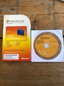 Office Professional 2010 PKC mit DVD in Deutsch, Vollversion mit MwSt-Rechnung