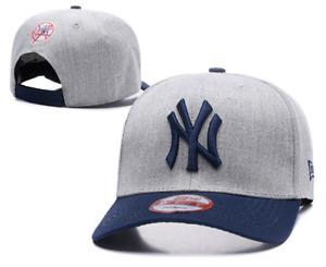 New York Yankees MLB Baseball Embroidered Hat Hook and Loop Adjustable Cap