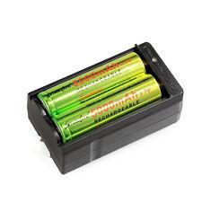 2pcs SKYWOLFEYE 3.7V 5000mAh Li-ion Rechargeable 18650 Battery Batteries+Charger