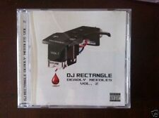 DJ RECTANGLE  DEADLY NEEDLES 2 CD        2014   SEALED X NEW