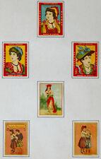 ANTIQUE Vintage MATCHBOX LABEL Match Box Lot JAPAN Japanese  / #023