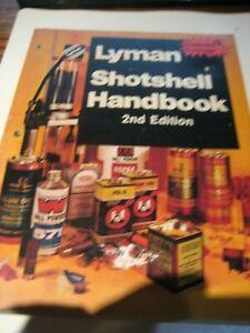 Lyman Shot Shell Handbook. 2nd edition