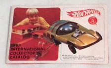 1969 Mattel Hot Wheels International Collector's Catalog Excellent HTF