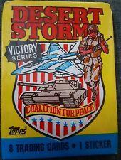 Topps 1991 Desert Storm 'Victory Series' Sealed Pack