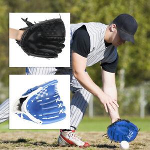 "10.5"" 12.5'' Kids Adults Baseball Left Hand Glove Catcher Pitcher Softball Mitts"