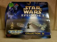 Star Wars Episode 1 Collection lV Micro Machines Vintage 1998
