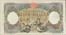 """1000 lire 08/10/1943   """" Repubbliche Marinare """""""