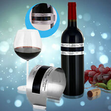 Stainless Steel LCD Electric Red Wine Digital Thermometer Temperature Meter GU