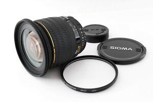 """""""Read"""" Sigma AF 20mm F/1.8 EX DG Aspherical Lens For Nikon FX/DX format 766357"""
