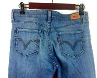 Levi's 518 Superlow Boot Cut Women's Medium Wash Denim Jeans Size 7L