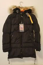 NEW NWT Parajumpers Jacket Long Bear Masterpiece Women's Black Size Small S DOWN