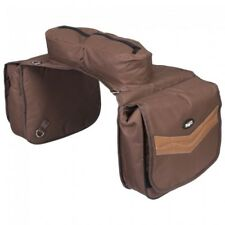 Tough-1 Brown Elite Insulated Cantle Saddle Bag Horse Tack 61-9595-7-0