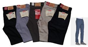 Jeans Pantalone Carrera Uomo Estivo Regular Fit Cotone 100% 46/62