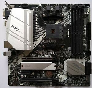 ASRock B450M Pro4 Socket AM4, AMD Motherboard