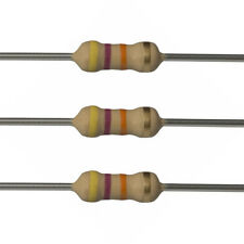 100 x 47k Ohm Carbon Film Resistors - 1/4 Watt - 5% - 47K - Fast USA Shipping
