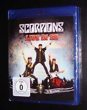 SCORPIONS Live In 3d Get Your en pico & Blackout BLU-RAY NUEVO Y EMB. orig.