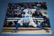 NY Mets RA Dickey Signed Autographed 8x10 Photo Toronto Blue Jays Cy Young A