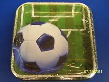 "Heads Up Soccer Sports Banquet Party 7"" Square Plates"