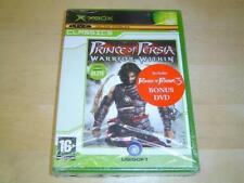 PRINCE PERSIA WARRIOR WITHIN + DVD MICROSOFT XBOX *NEW*