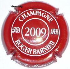 5b. Rose foncé grandes lettres Capsule de champagne BARNIER Roger