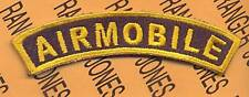 US Army 1st Cavalry Division AIRMOBILE tab patch