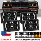 4pcs 4X6'' Hi/Lo beam DRL LED Headlight for Chevy C10 C20 C30 Camaro Ford 81-87  for sale