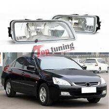 2x Front Fog Light Lamp Cover for Honda Accord 2003 04 05 062007 33951-SDA-H01