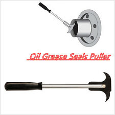 Professional Seal Puller Oil Grease Seals 2 Size Tips Tool Extractor Mechanics