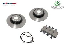 Discovery sport rear discs + pads Discovery sport brake discs + pads 2015-2017