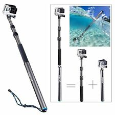 Smatree Carbon Fiber Detachable Extendable Floating Pole for GoPro Hero 6/5/4/3+