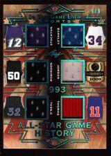 SIX HOF GAME JERSEY PATCH 9/9 MICHAEL JORDAN CHARLES BARKLEY SHAQUILLE O'NEAL SP