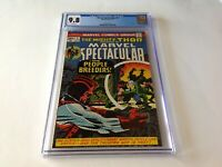 MARVEL SPECTACULAR 5 CGC 9.8 WHITE PAGES THOR HIGH EVOLUTIONARY MARVEL COMICS
