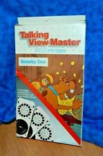 "TALKING VIEWMASTER w (3) 3-D Cartridges w Sound ""SCOOBY DOO""  VG"
