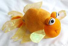 "Webkinz Fantail Goldfish Plush Yellow Orange Shimmer Length No Code 11"""