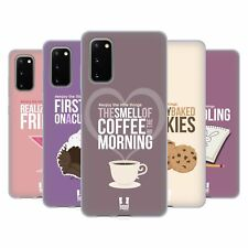 HEAD CASE DESIGNS ENJOY THE LITTLE THINGS SOFT GEL CASE FOR SAMSUNG PHONES 1