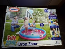 Little Tikes Drop Zone Fun Zone Inflatable Pool Or Ball Pit New Super Fun Water