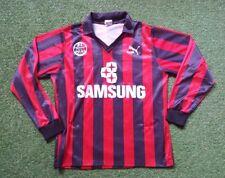 Eintracht Frankfurt Trikot L Puma shirt jersey 91/92 Samsung schwarz rot