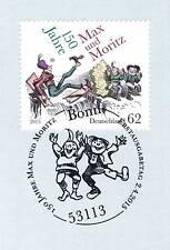 BRD 2015: Max und Moritz Nr. 3146 mit Bonner Ersttagssonderstempel! 1A! 1901
