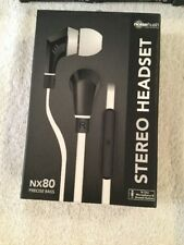 NoiseHush NXStereo 3.5mm Headset w/ Mic - Noise Isolation, New Sealed
