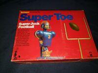 Vintage ~ 1976 ~ Schaper ~ Super Jock ~ Super Toe Football ~ Game ~ Complete