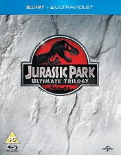 Jurassic Park/The Lost World - Jurassic Park/Jurassic Park 3 (Blu-ray, 2013,...