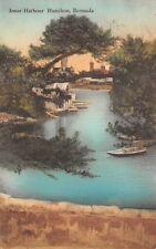 Hamilton, Bermuda, Inner Harbor, Albertype Pub For Princess Hotel, used 1931