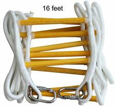 Fire Escape Ladder 2 Story & 3 story- Solid Flame Resistant Fire Safety Rope .