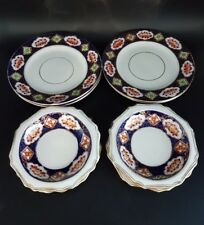 Royal albert crown china, Berry bowls and side plates, 10 pieces