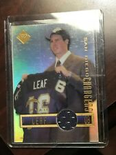 RYAN LEAF 1998 EDGE ROOKIE  JERSEY CARD CHARGERS!