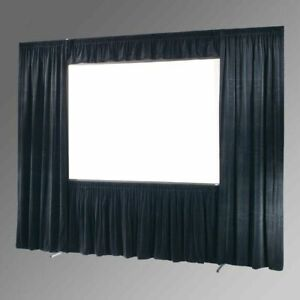 DRAPER ULTIMATE FOLDING SCREEN 7.5'x10' COMPLETE DRESS KIT WITH CASE