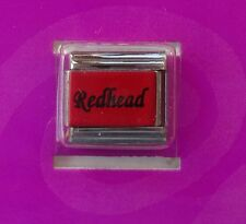 b Redhead Italian LINK bracelet charm claire's