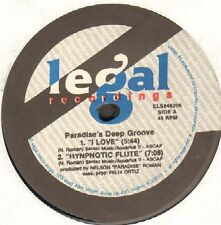 PARADISE'S DEEP GROOVE - I Love - 1992 - E Legal - ELS846206 - Usa